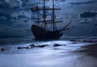 emscherkunst-segelschiff-arca-vor-anker
