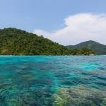 Die SurinInseln von Thailand