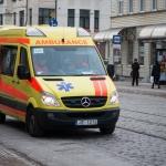 Diesemedizinischen Geräte befinden sich in einem Krankenwagen
